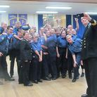 Wells Sea Cadet unit T.S. Eliza Adams has been officially recognised and recommended to become a mem