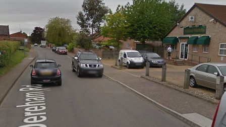 Dereham Road in Mattishall will be closed for 10 days in August. Picture: Google Maps