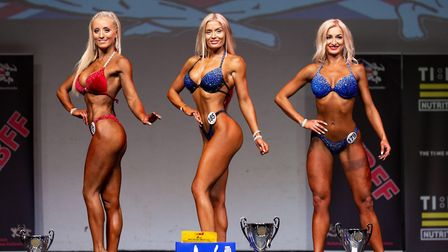 Katie Da Silva, from Dereham, has enjoyed a string of recent bodybuilding success. Picture: Courtesy
