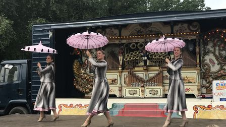 40s style dancing at the 10th edition of the Whitwell and Reepham Station Steam Rally. Picture: Ella