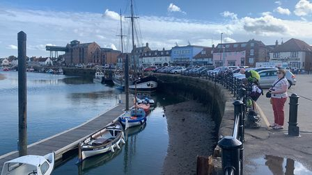 An iconic view of the quayside in Wells. Picture: Stuart Anderson