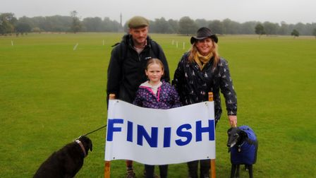 Despite the heavy rain, loyal supporters of Astro Brain Tumour Fund took part in the thirteenth Norf