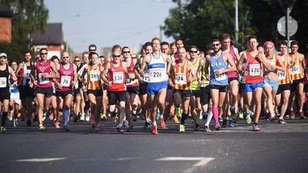 The Dereham 5k race is now a popular event on the county's running calendar. Picture: Archant
