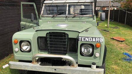A bespoke Land Rover has been stolen from Saracens garage in Fakenham. Picture: Norfolk Constabulary