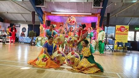 Performers at the Bario Fiesta, festival of the Philippines in East Tuddenham. Picture: Supplied by