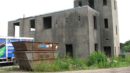 Falcon Tower Crane Services has submitted an application to restore and extend the old RAF control t