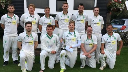 Bradley Raper (front left) was a keen cricketer and played for Dereham Cricket Club. Picture: Dereha