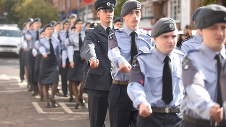 A Battle of Britain memorial parade in Dereham will remember the Second World War's fallen heroes. P