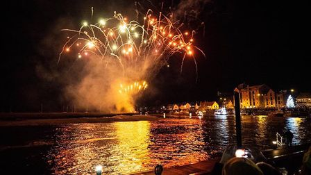 The Christmas lights were switched on in Wells as part of the town's annual Christmas Tide Festival.