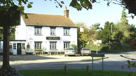 The Swan pub in Gressenhall, which closed in July 2018. Picture: Archant