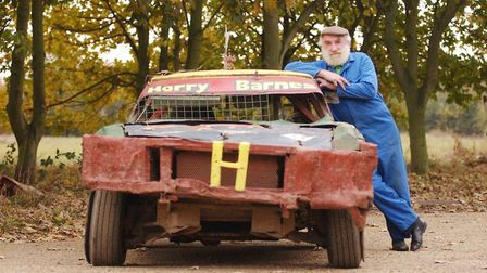 Horry Barnes, from Dereham, passed on his love of stock car racing to four generations. Picture: Arc