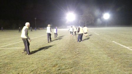 Walking Rugby has proved so popular in Fakenham that it's continuing into winter. Picture: Walking r