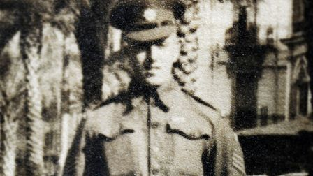 A photo of Thomas Twite, from Dereham, during the Second World War. Picture: Matthew Usher.