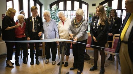 A Tovertafel 'magic table' has been unveiled at Dereham Meeting Point. Picture: Tangerine Creative
