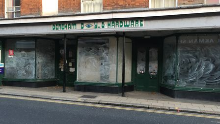 After nearly four decades, Dereham DIY and Hardware closed. Picture: Dan Bennett