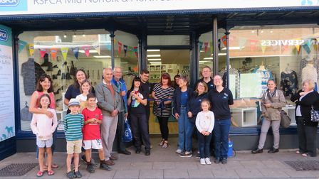 Official opening of the RSPCA charity shop in Dereham. Picture: Julian Cooper/RSPCA