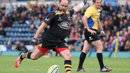 Former England rugby player, Andy Goode. Picture: wpr agency