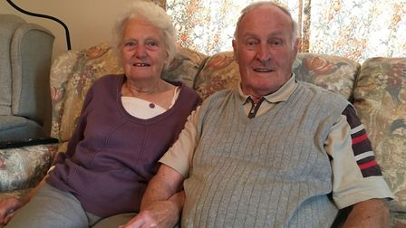 Margaret and Alan Lawler, from Dereham, are celebrating their 65th anniversary. Picture: Archant