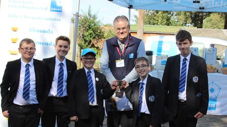 The Norfolk School Solana Potato competition is now in its third year and Northgate High School in D