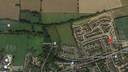 Plans to build 62 homes on land west of Etling View in Dereham have officially been approved. Pictur