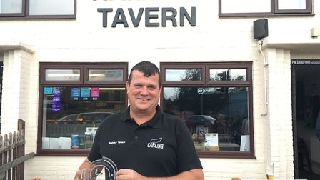 Paul Sandford, landlord at The Railway Tavern in Dereham, has won a Pride of Britain Award. Picture: