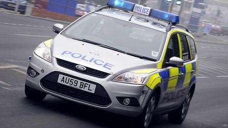 Police were called after a car ended up in a ditch. Picture: Archant
