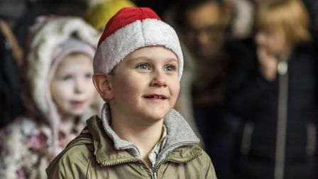 Scenes from the Dereham Christmas Lights Switch on 2016 - The crowd. Picture: Matthew Usher.