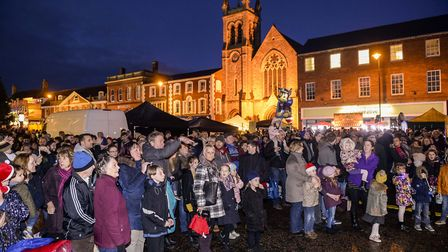 Scenes from the Dereham Christmas Lights Switch on 2016. Picture: Matthew Usher.