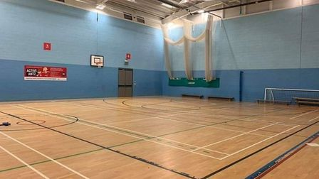 Fakenham Sports and Fitness Centre's Sports Hall. Picture: Everyone Active.