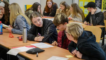 A new charity has trained a group of students from Dereham Sixth Form College as Young People of the