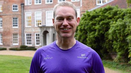 Event support ambassador for parkrun, Ian Edwards. Picture: Ian Edwards