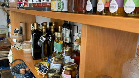 The Rainbow Deli in Fakenham sells loads of local products. Picture. Archant
