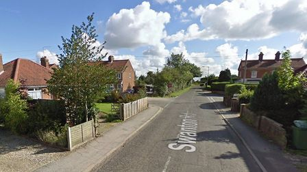 A person had to be given oxygen after a fire broke out in a home in Swanton Road, in Dereham. Pictur