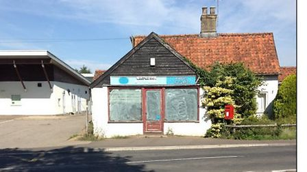 Old Yaxham Post Office with the primary school to the left. Picture: Breckland planning documents/ H