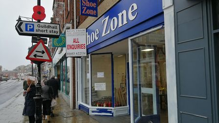 Plans have been submitted to change the use of Dereham's former Shoe Zone building from retail into