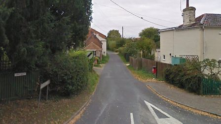 Firefighters were called to a car fire on Thynne's Lane in Mattishall. Picture: Google Maps