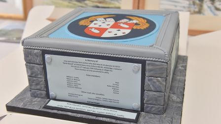 Commemoration and dedication of a new memorial in memory of crew and others who lost their lives in