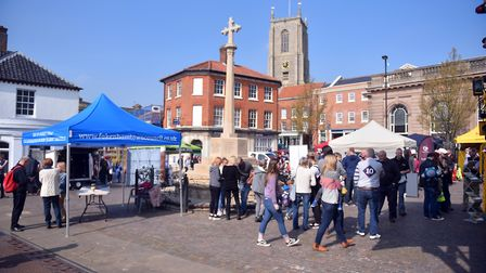 The Fakenham Fayre is an event which celebrates everything great about Fakenham. PICTURE: Jamie Hone