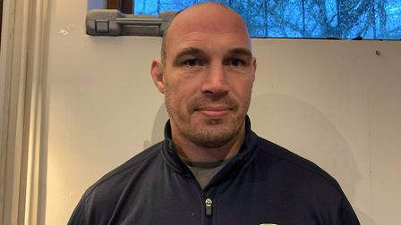 Fakenham Rugby's Director of Rugby, Rob Ward Picture: Archant