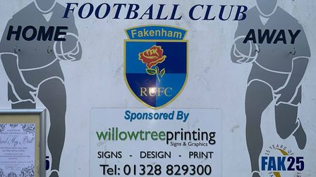 Fakenham Rugby Club. Picture: Archant