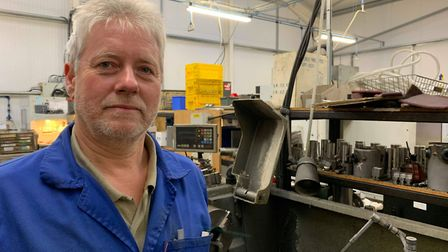 One of Breckland Precision Engineering directors, Nigel Hendry. Picture: Archant