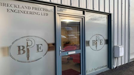 Breckland Precision Engineering at Clipbush Business Park in Fakenham. Picture: Archant