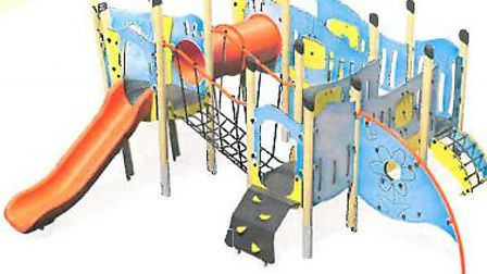 Plans to revamp playground area at Gressenhall Rural Life Museum. Possible new play equipment for si
