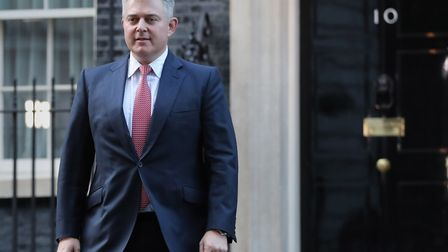 Newly appointed Northern Ireland Secretary Brandon Lewis, who has been guiding Northern Ireland mini