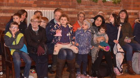 A traditional Victorian Christmas at Gressenhall. Jack and the bean stalk pantomime Pictures: Britta