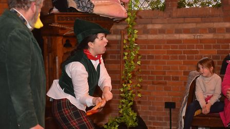 A traditional Victorian Christmas at Gressenhall.Jack and the bean stalk pantomime Pictures: Brittan