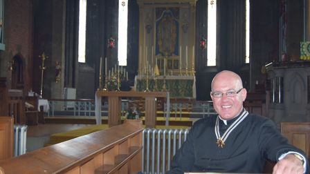 Fr Kevin Smith, the newly appointed Priest Administrator to the Anglican Shrine.