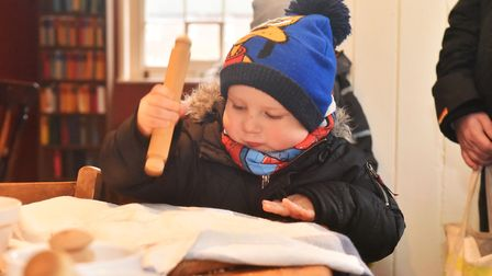 A traditional Victorian Christmas at Gressenhall, Victorian cooking. Pictures: Brittany Woodman