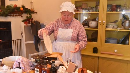 A traditional Victorian Christmas at Gressenhall, Victorian cooking class. Pictures: Brittany Woodma