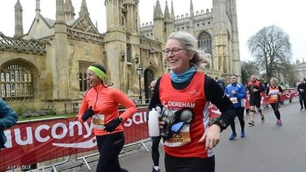 Megan Oram has completed an ambitious goal to take part in 12 runs over 12 months in memory of her n